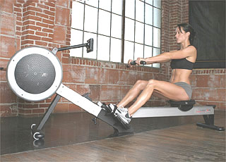 rower concept2woman