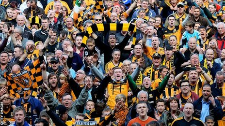 hull city fans promotion 2013