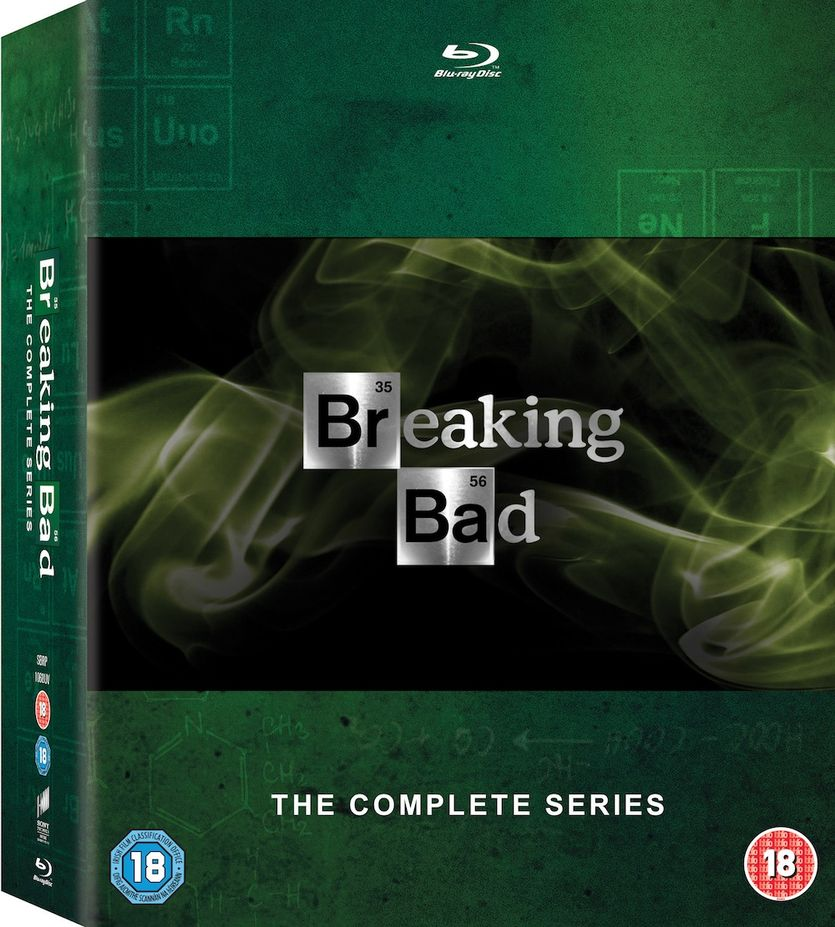 breaking bad boxset
