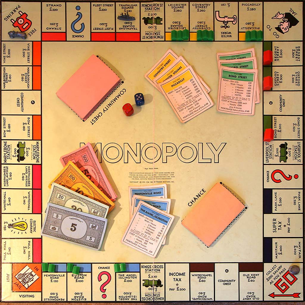 monopolyBoard uk