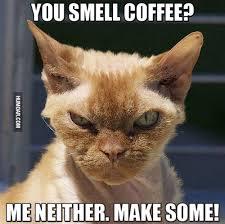 coffee make me some