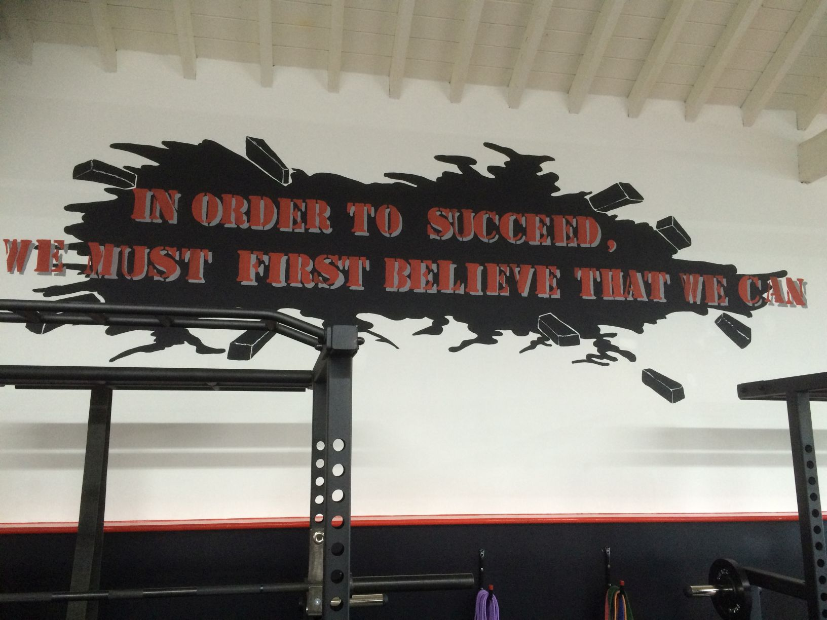 in order to succeed - first believe we can